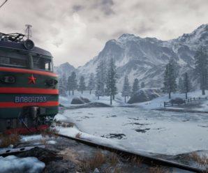 Стань машинистом локомотива в игре Trans-Siberian Railway Simulator.