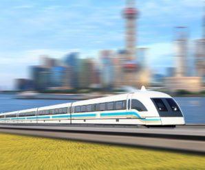 В Китае стартовали проекты по усовершенствованию эксплуатации поездов Маглев.