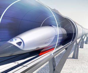 Скорость поезда Hypeloop не «обойдет» скорость поезда Маглев.