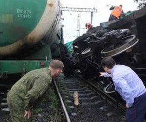 В сходе вагонов с рельс под Волгоградом был обвинен бывший сотрудник РЖД